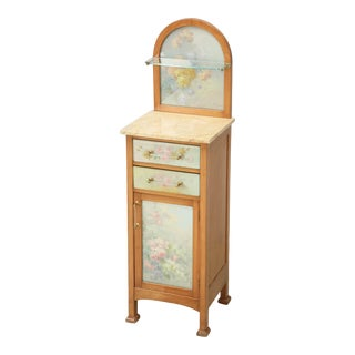 Spanish Bathroom or Nightstand Cabinet For Sale