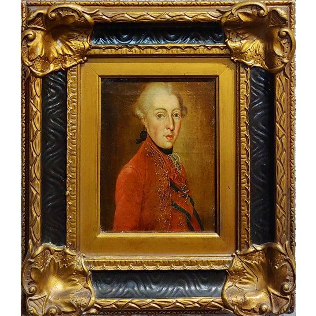 Ferdinand Di Borbone King of Naples -18th century Oil painting original oil painting on canvas circa 1780s portrait of...