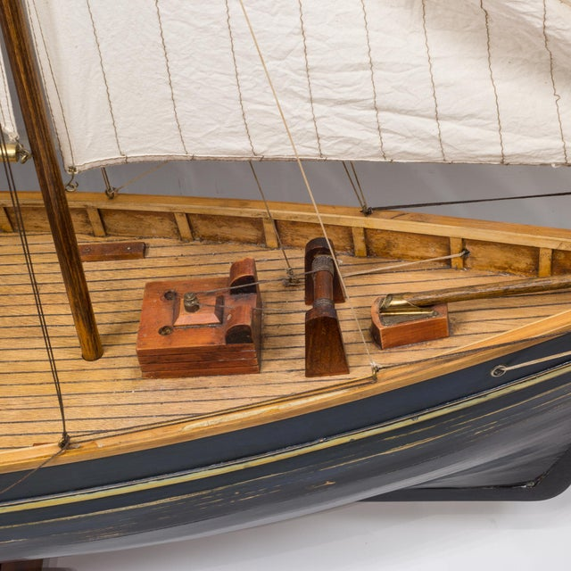 Early 20th C. Monumental Ship Model C. 1940 For Sale - Image 11 of 12