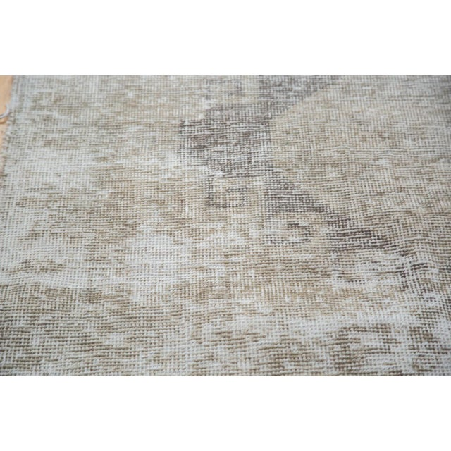 "Distressed Oushak Runner - 4'4"" X 12'9"" - Image 9 of 9"