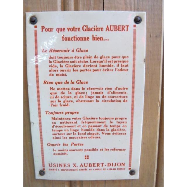 Vintage 1920s Oak Ice Box Refrigerator For Sale - Image 10 of 11