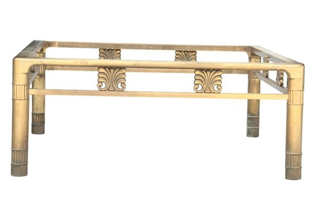 Square Brass Coffee Table Base   Image 2 Of 5