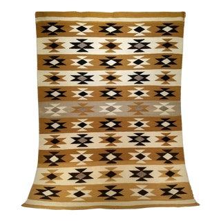 "Vintage Navajo Tribal Chinle Revival Carpet - 3' 10"" X 5' 1"" For Sale"