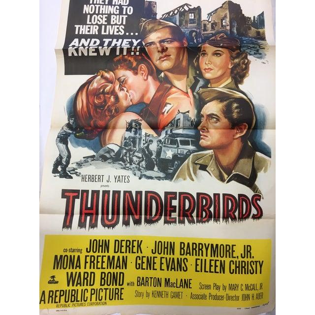 1952 Original Thunderbirds Movie Poster - Image 4 of 10