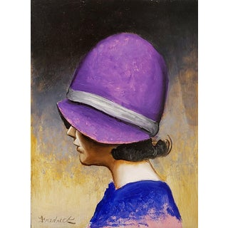 """Fredrick Stephens """"The Cloche Hat"""" For Sale"""