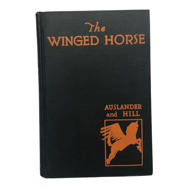 Vintage Book With Pegasus Cover Artwork For Sale