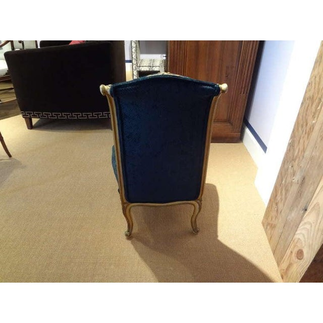 1920's French Louis XV Style Painted and Gilt Wood Chair For Sale In Houston - Image 6 of 8
