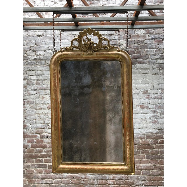 19th Century Mirror For Sale - Image 9 of 10