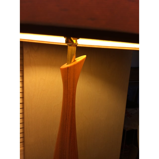 Mid-Century Walnut Table Lamp - Image 6 of 6