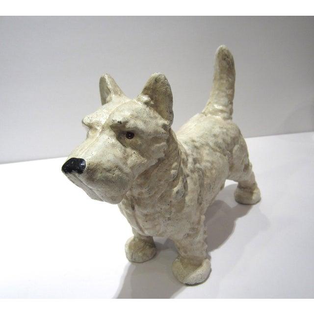 Cast Iron West Highland Terrier Doorstop For Sale - Image 9 of 9