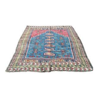 "Vintage Anatolian Cappadocia Handmade Rug - 7'3"" x 4'6"""