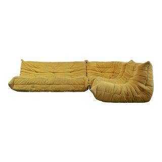 1990s Vintage Ligne Roset Vintage Togo Sofa For Sale