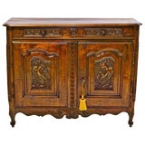 Image of 18th Century Buffet From the La Haute-Bretagne Region of France For Sale