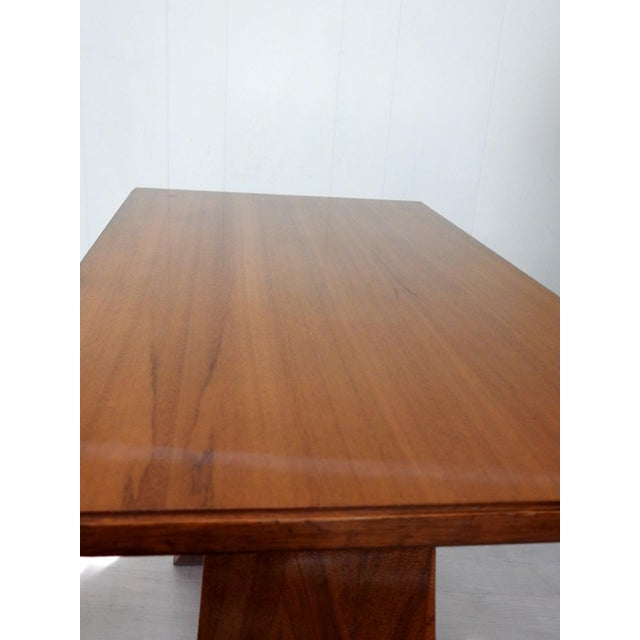 Wood Art Deco Paul Frankl Bell Side Table For Sale - Image 7 of 12