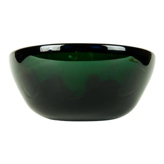 Mid Century Art Deco Style Murano Deco Bowl For Sale
