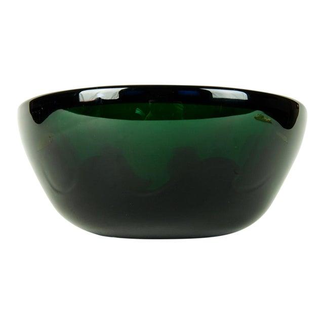 Mid Century Art Deco Style Murano Deco Bowl For Sale