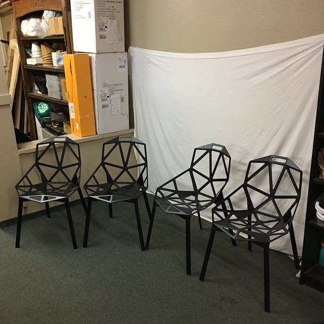 Magis Black Chair One - Set of 8 - Image 2 of 10