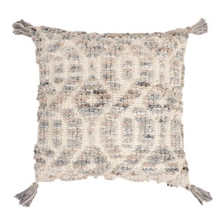 Hand Woven Wool & Cotton Pillow