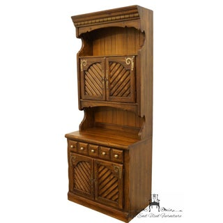 Thomasville Furniture Pine Manor Hutch Top Cabinet Preview