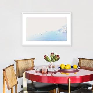 """Medium """"Capri From Above"""" Print by Natalie Obradovich, 30"""" X 20"""" Preview"""
