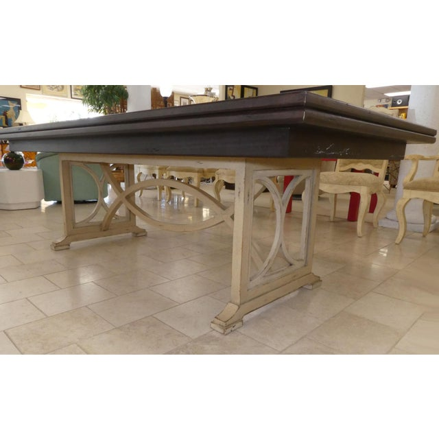 Habersham Tribeca Dining Table For Sale - Image 9 of 13