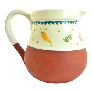 Boston Warehouse Trading Corp. Handcrafted Terra Cotta Margarita/Water Pitcher
