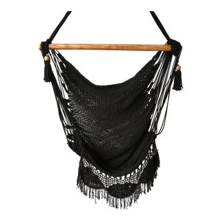 Bohemian Organic Modern Onyx Hanging Chair For Sale