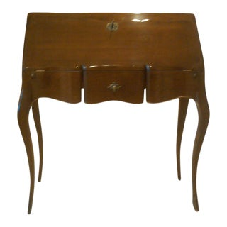 1950s Vintage French Folding Top Desk