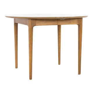 1960s Mid-Century Modern John Van Koert for Drexel Profile Round Dining Table For Sale