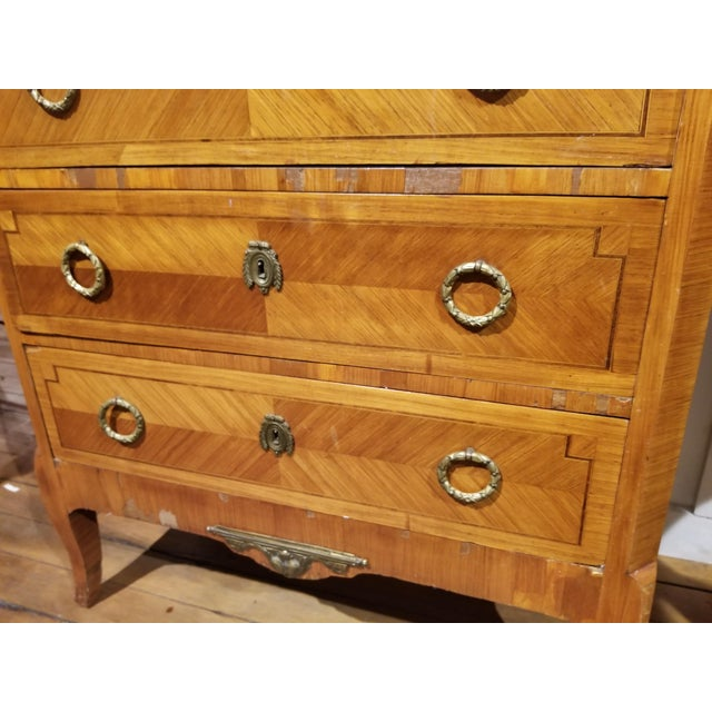 Early 20th Century 1931 Waldorf Astoria French Satinwood Lingerie Bureau For Sale - Image 5 of 11