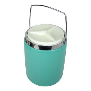 Vintage Tiffany Blue Ice Bucket