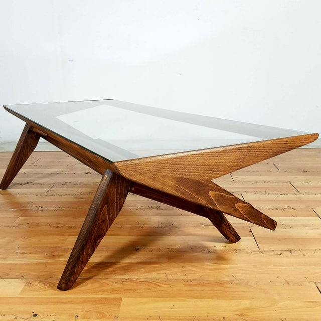 Mid Century Coffee Table John Keal For Brown Saltman At: John Keal For Brown Saltman Mid-Century Coffee Table