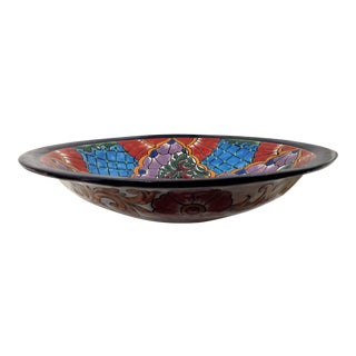 Oversized Mexican Pottery Salad Bowl