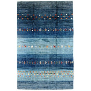 "Pasargad Genuine Persian Gabbeh Rug - 8′2″ × 12'11"" For Sale"