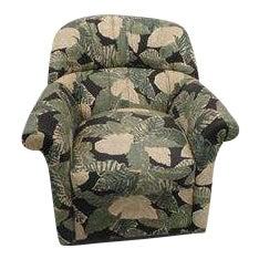 Palm Leaf Tuft Side Chair