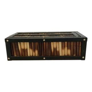 Porcupine Quill Rectangular Box