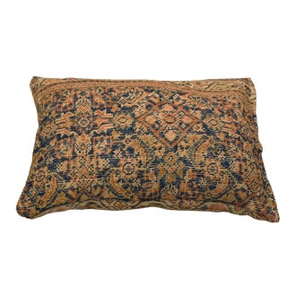 Repurposed Antique Persian Rug Pillow For Sale