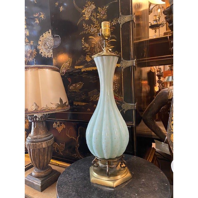 Vintage Murano Glass Lamp For Sale - Image 11 of 11