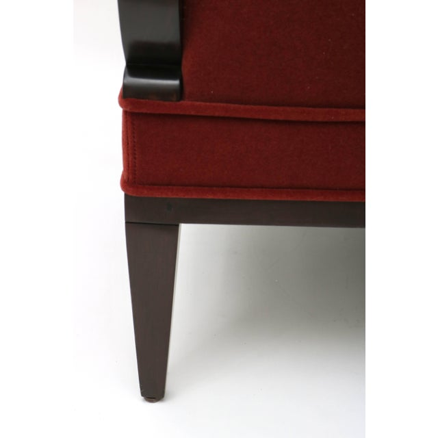 William Switzer Lucien Rollin Collection Art Deco Armchair by William Switzer Showroom For Sale - Image 4 of 11