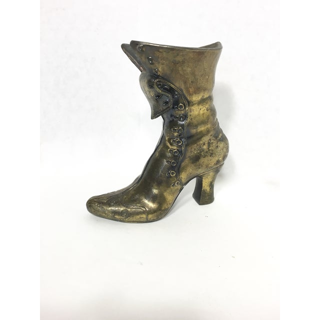 Brass Victorian Boot - Image 2 of 6