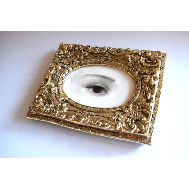 2010s Contemporary Lover's Eye Painting by S. Carson For Sale - Image 5 of 7