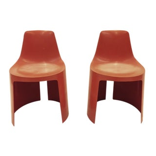 Mid-Century Modern Style Side Chairs - A Pair