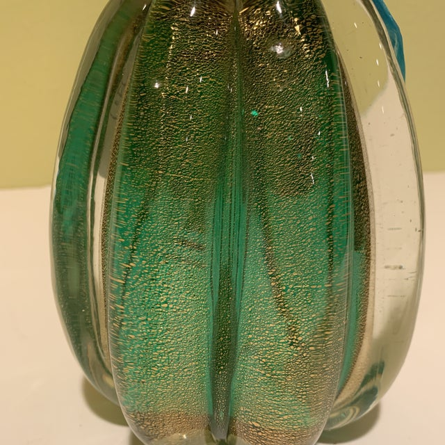 Italian Mid Century Murano Bottle/Decanter With Stopper For Sale - Image 9 of 10