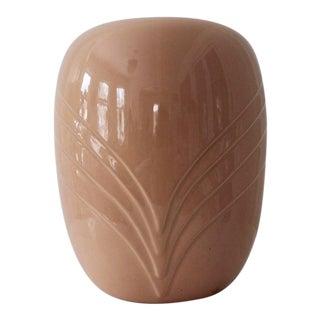 "1980s Art Deco Nelson McCoy ""Bijou"" Vase 458 For Sale"