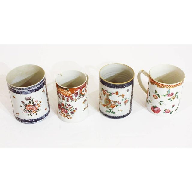 Late 18th Early 19th Century Chinese Export Mugs / Tankards For Sale - Image 4 of 7