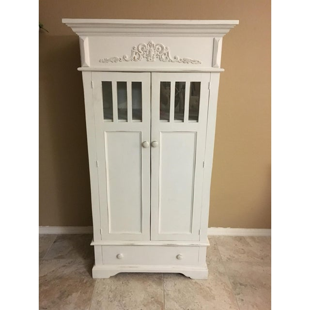 Shabby Chic Cottage Cabinet - Image 2 of 8