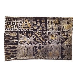 Deco 1 Silk Velvet Pillow Cover For Sale