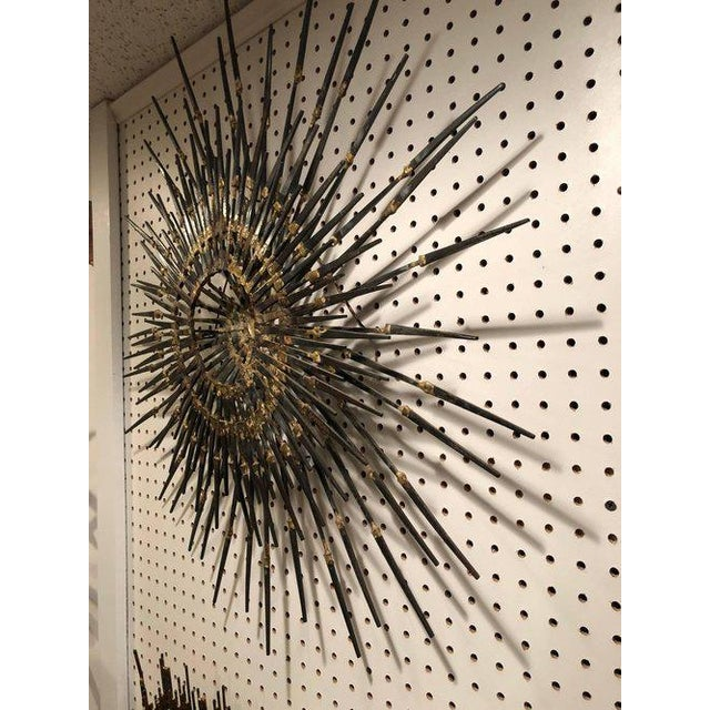 1960s Mid-Century Modern Starburst Sculpture For Sale - Image 9 of 11