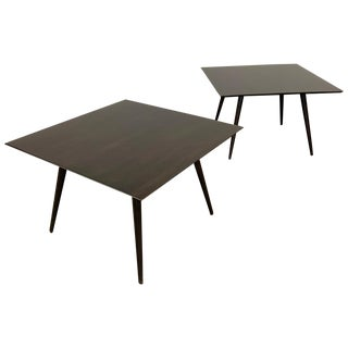 Square Coffee Side Tables by Paul McCobb Planner Group for Winchendon - a Pair For Sale