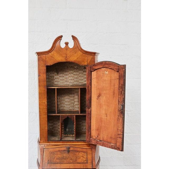 Walnut 18th Century Italian Secretary For Sale - Image 7 of 10